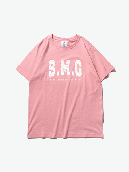 SMUDGE|男款|T恤|SMG LOGO印花短袖T恤 【林俊杰同款】