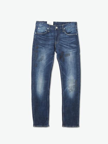 直筒型修身型宽_Lee 722版型TRAVIS - 修身低腰直筒MEN JEANS牛仔裤_Lee牛仔裤-YOHO!BUY 有货