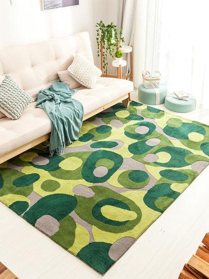 卡乐美 绿荫夏日地毯 120*170cm