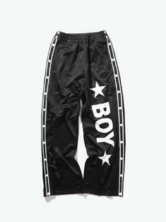 BOY LONDON|男|女|BOY LONDON  LOGO字母织带休闲裤