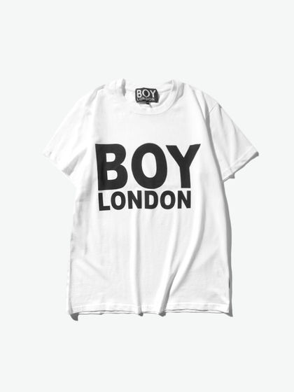 BOY LONDON|男款|T恤|BOY LONDON  LOGO字母印花短袖T恤