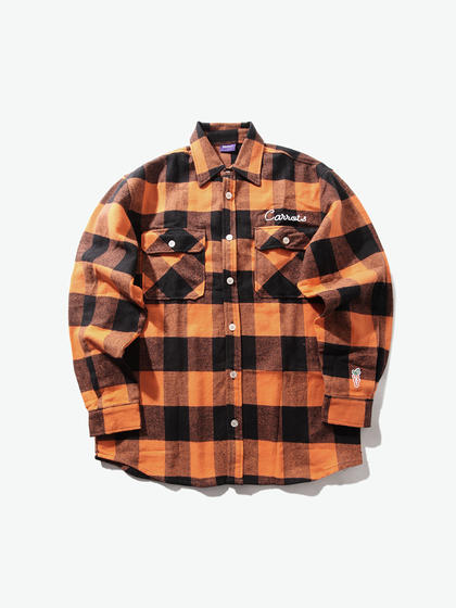 Carrots by Anwar|Carrots by Anwar|男款|衬衫|Carrots by Anwar SIGNATURE LUMBERJACK FLANNEL