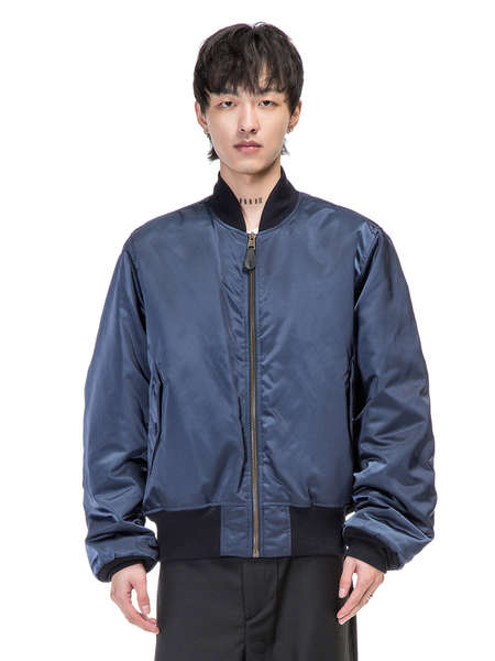 BALENCIAGA|BALENCIAGA|男|夹克|BALENCIAGA   BOMBER JACKET POLITICAL CAMPAIGN NAVY