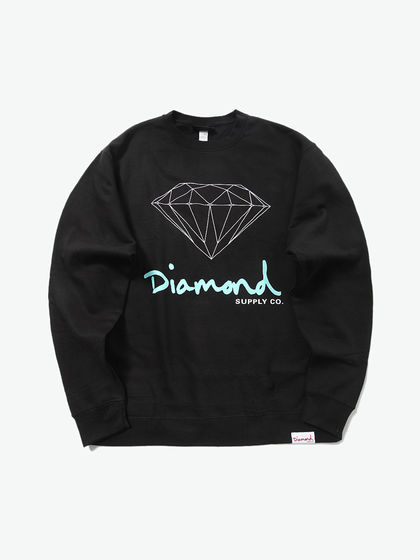 diamond|Diamond SUPPLY CO.|男款|卫衣|Diamond SUPPLY CO. LOGO印花针织卫衣