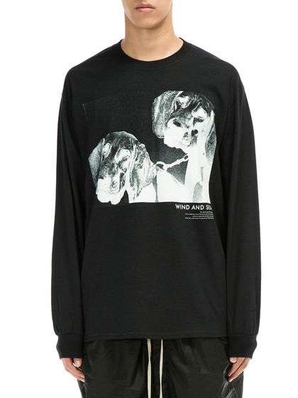 WIND AND SEA|WIND AND SEA|男款|T恤|WIND AND SEA LONG SLEEVE CUT-SEWN DOGS