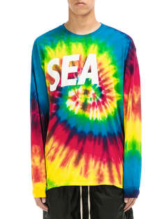WIND AND SEA|男|WIND AND SEA LONG SLEEVE CUT-SEWN TIEDYE