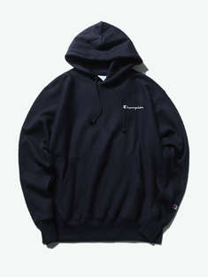 CHAMPION|男|CHAMPION  Reverse Weave® Pullover Hood - Left Chest Script