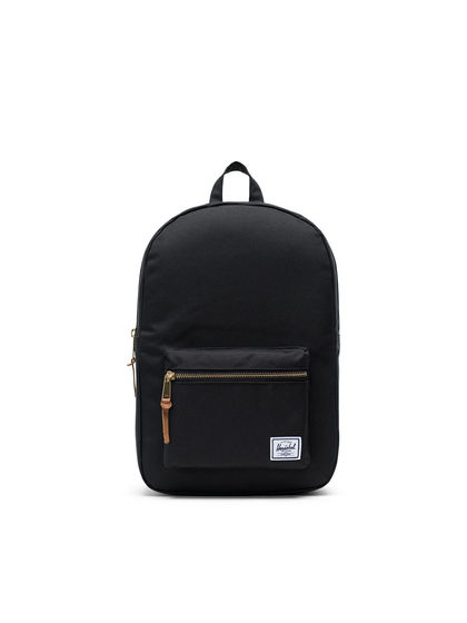 Herschel Supply|男款|双肩包|Herschel Supply Settlement Mid-Volume Black 双肩包