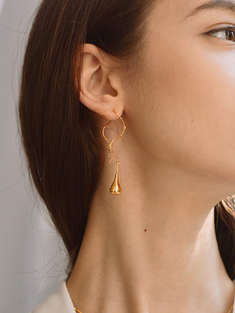 I.A.M. ATELIER|女|I.A.M. ATELIER Charming CurveEarrings