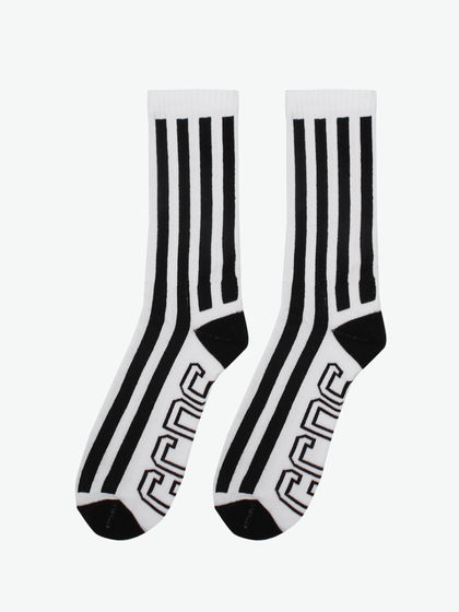 GCDS|GCDS|男款|袜子|GCDS STRIPED SOCKS 02 BLACK